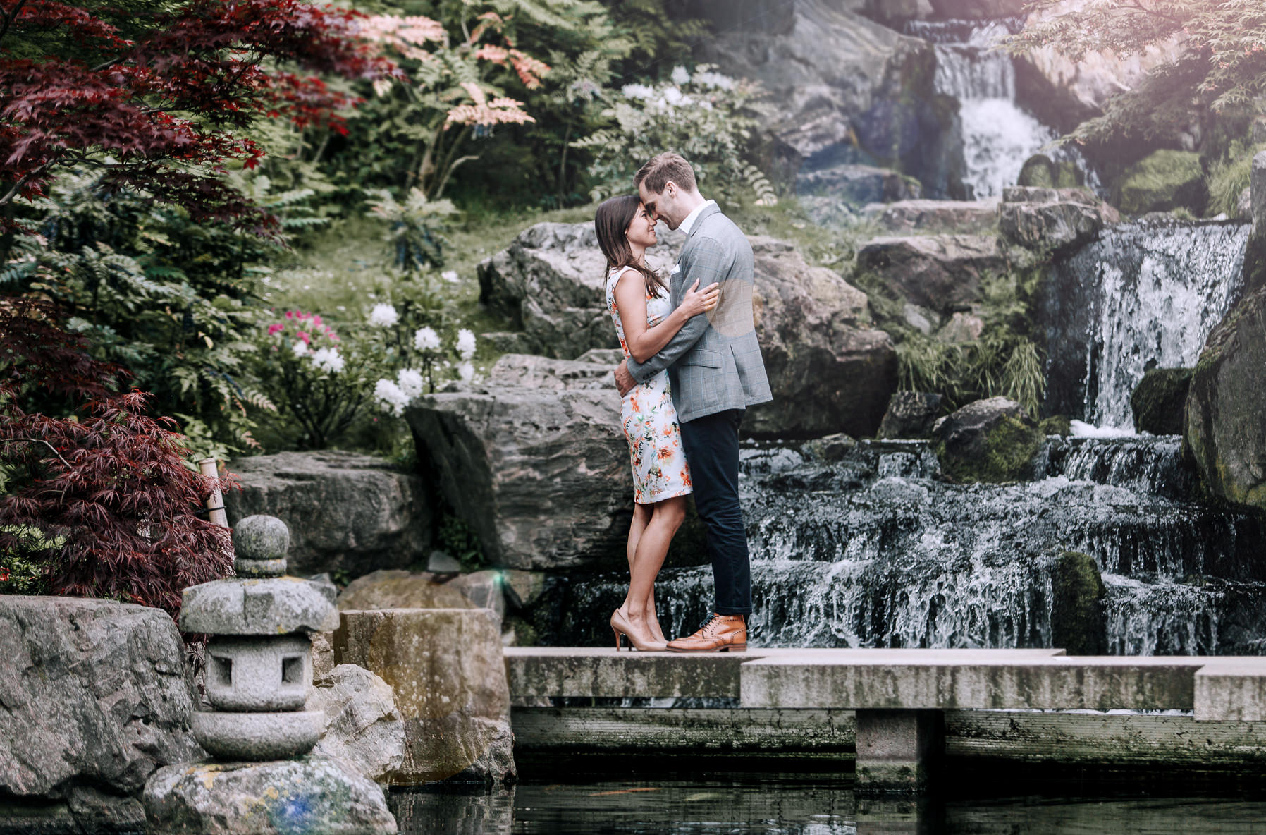 engagement photos in Holland Park London